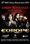 EUROPE concerteaza in noiembrie la Bucuresti