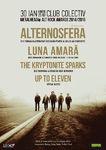 Alternosfera, Luna Amara, The Kryptonite Sparks - Metalhead Alt Rock Awards pe 30 ianuarie la Colectiv