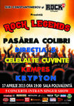 Rock Legends la Sala Polivalenta pe 17 Aprilie
