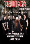 Concert 'Trooper Unplugged - Pentru tot ce-a fost' la Teatrul Excelsior pe 23 Octombrie