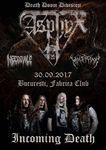 Concert Asphyx , Necrovile si Malpraxis in Fabrica