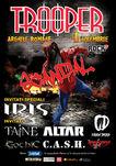 Concert Trooper 'Scandal' pe 4 noiembrie la Arenele Romane