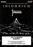 Concert Insomnium si Tribulation la Bucuresti pe 22 Martie