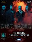 Concert Disturbed in premiera in Romania pe 27 iunie