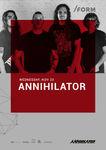 Annihilator canta in Cluj Napoca pe 20 noiembrie
