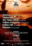 Concert Shining, Nightingale, The Vision Bleak si multi altii la Bucuresti
