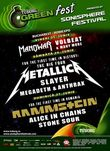 Concert Metallica, Slayer si Anthrax in Romania la Sonisphere / Tuborg Green Fest