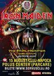 Concert Iron Maiden in Romania la Cluj Napoca