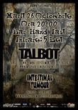 Concert Talbot in club Hand din Iasi