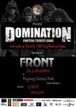 Afis Concert Domination (Pantera Tribute Band) in Cluj-Napoca