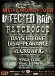 Concert Infected Rain si Psychogod in Wings Club Bucuresti