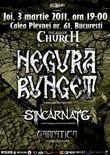 Concert Negura Bunget, Sincarnate si Carpatica in Silver Church