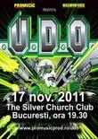 Concert U.D.O. la Bucuresti