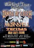 Afis Cradle Of Filth si Moonspell la Cluj-Napoca