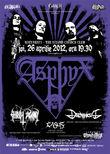 Concert Asphyx, Christ Agony si Daemonicus la Bucuresti