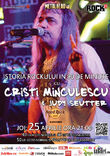 Concert Cristi Minculescu in aprilie la Hard Rock Cafe
