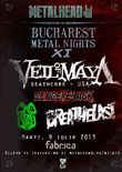 Bucharest Metal Nights XI la Bucuresti: Concert VEIL OF MAYA