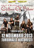 Concert Children Of Bodom la Bucuresti pe 12 noiembrie