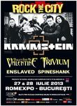 Rock The City 2013: Concert Rammstein la Bucuresti in iulie 2013