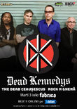 Dead Kennedys pe 3 Iulie in Fabrica din Bucuresti