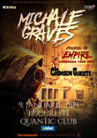 Concert Michale Graves (ex Misfits) pe 9 Ianuarie in Quantic