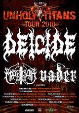 Deicide, Marduk si Vader in turneu european