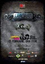 Godmode si iCoRy in concert la Targu-Mures