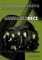 Concert acustic Sarmalele Reci