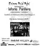 Istoria Pantera in Club Shogun din Botosani