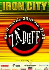 Za'Duff concerteaza in Iron City
