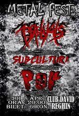 Metal Fest in club David din Reghin