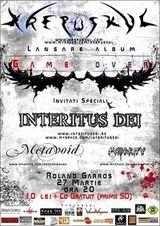 Concert Krepuskul si Interitus Dei in Roland Garros