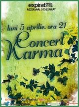 Concert Karma in Club Expirat