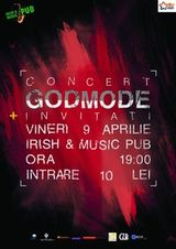 Concert Godmode in Irish & Music Pub din Cluj