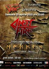 Concert Open Fire si Merkes in Discotheque Vox din Suceava