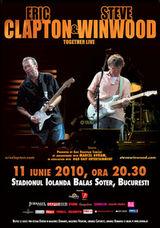 Eric Clapton concerteaza la Bucuresti