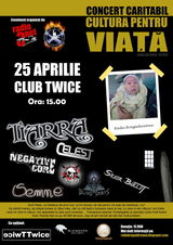 Cultura pentu viata - maraton muzical caritabil organizat pentru Radu Bragadireanu