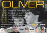 Concert Oliver in Club Control din Bucuresti