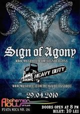 Concert Sign Of Agony si Heavy Duty in Bohemian Flow din Sibiu