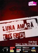 Concert Luna Amara si Tep Zepi in Club Daos din Timisoara