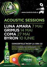 Concert Byron in Club Control din Bucuresti