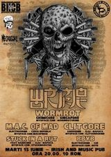 Concert Wormrot in Irish & Music Pub din Cluj Napoca