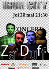 Concert Za'Duff in Iron City din Bucuresti
