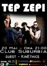 Concert Tep Zepi in Club Suburbia din Bucuresti