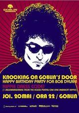 Petrecere pentru Bob Dylan in Club Goblin din Bucuresti