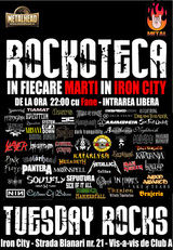O noua editie a Rockotecii METALHEAD in Iron City