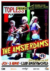 Concert The Amsterdams in Club Underworld din Bucuresti