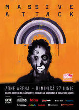 Concert Massive Attack la Zone Arena in Bucuresti