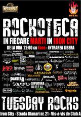 Rockoteca METALHEAD luni seara in Iron City din Bucuresti
