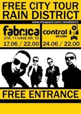 Concert Rain District in Club Control din Bucuresti
